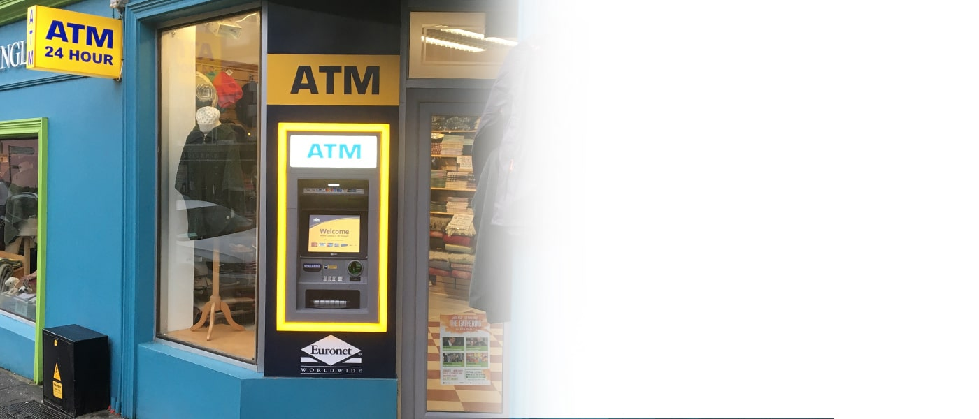 Our ATM solutions are designed with a range of industries in mind